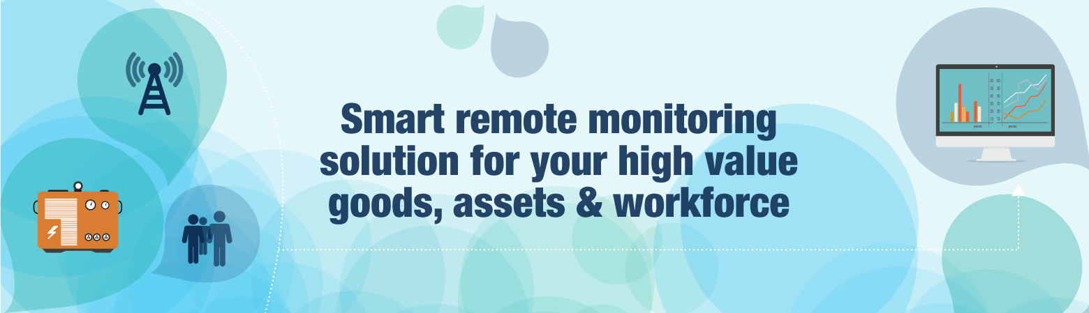IOT asset tracking, Smart remote monitoring solution for your high value goods, assets & workforce