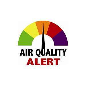 Wireless air quality monitoring systems