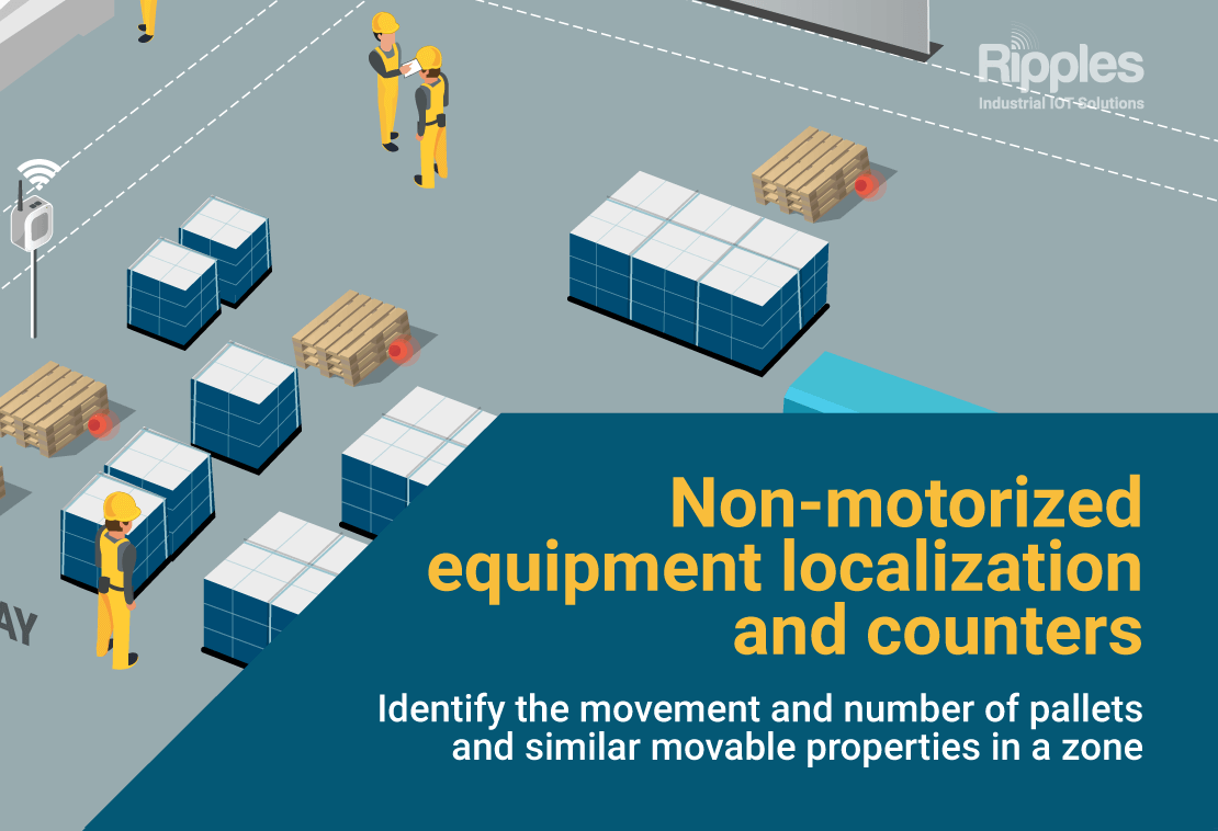Non-motorized equipment localization and counters