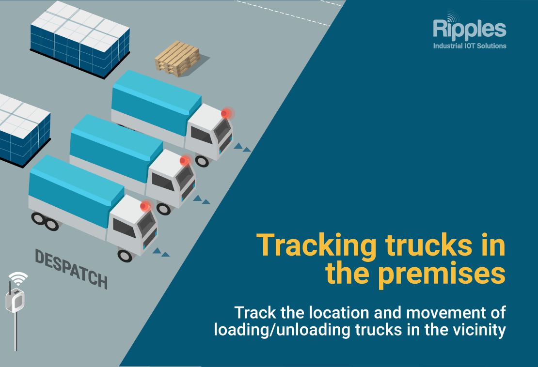 Tracking trucks in the premises