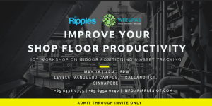 Wirepas software for indoor location, workflow monitoring, social distancing in factories