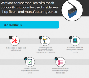 IOT starter kit, condition monitoring, factories, manufacturing, equipment