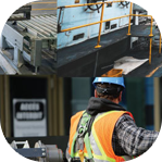 Construction and mining industry - workforce safety, security